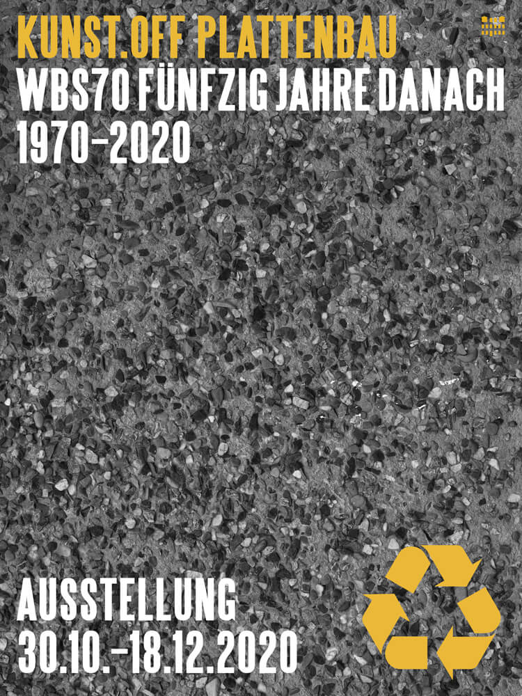 Plakat Kunst.Off Plattenbau
