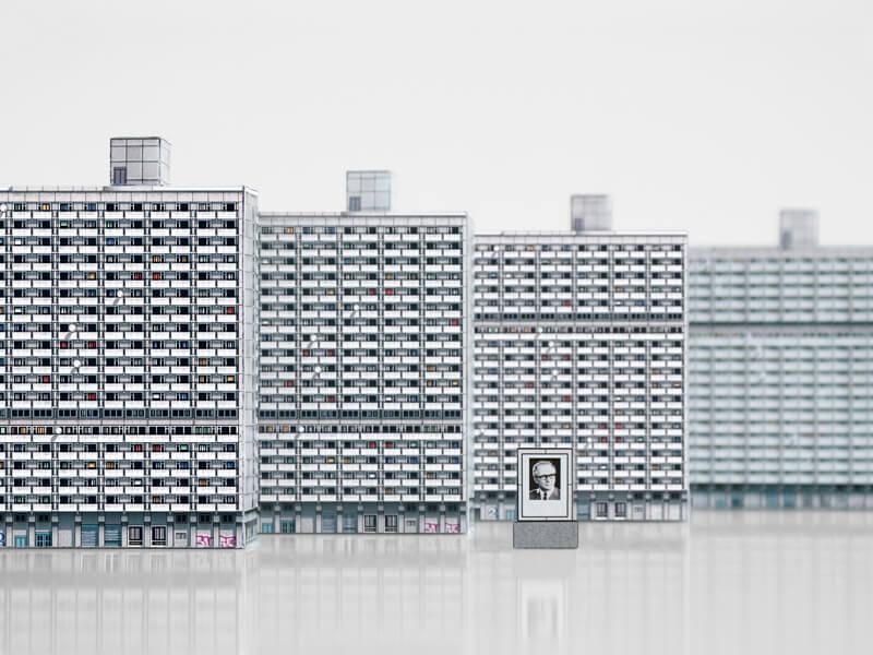 Ausstellung Kunst.off Plattenbau. WBS70-fünfzig Jahre danach, Bild: Zupagrafika Modern East