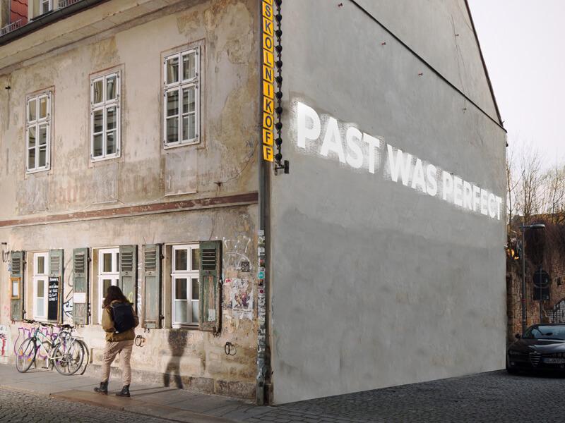 Ausstellung Kunst.off Plattenbau. WBS70-fünfzig Jahre danach, Bild: Stefan Paruch, Past Was Perfect
